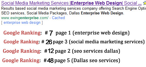 dallas seo services