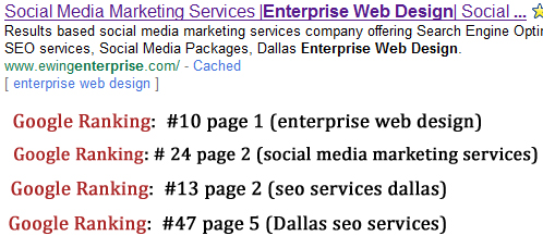 seo services dallas